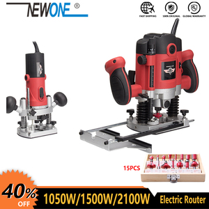 1050W/1500W/2100W Woodworking Electric Router trimmer Wood Milling Engraving Slotting Trimming machine Hand Carving Carpentry(China)
