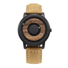 EUTOUR Wooden dial stripe watches Luxury Brand Mens fashion Casual Quartz
