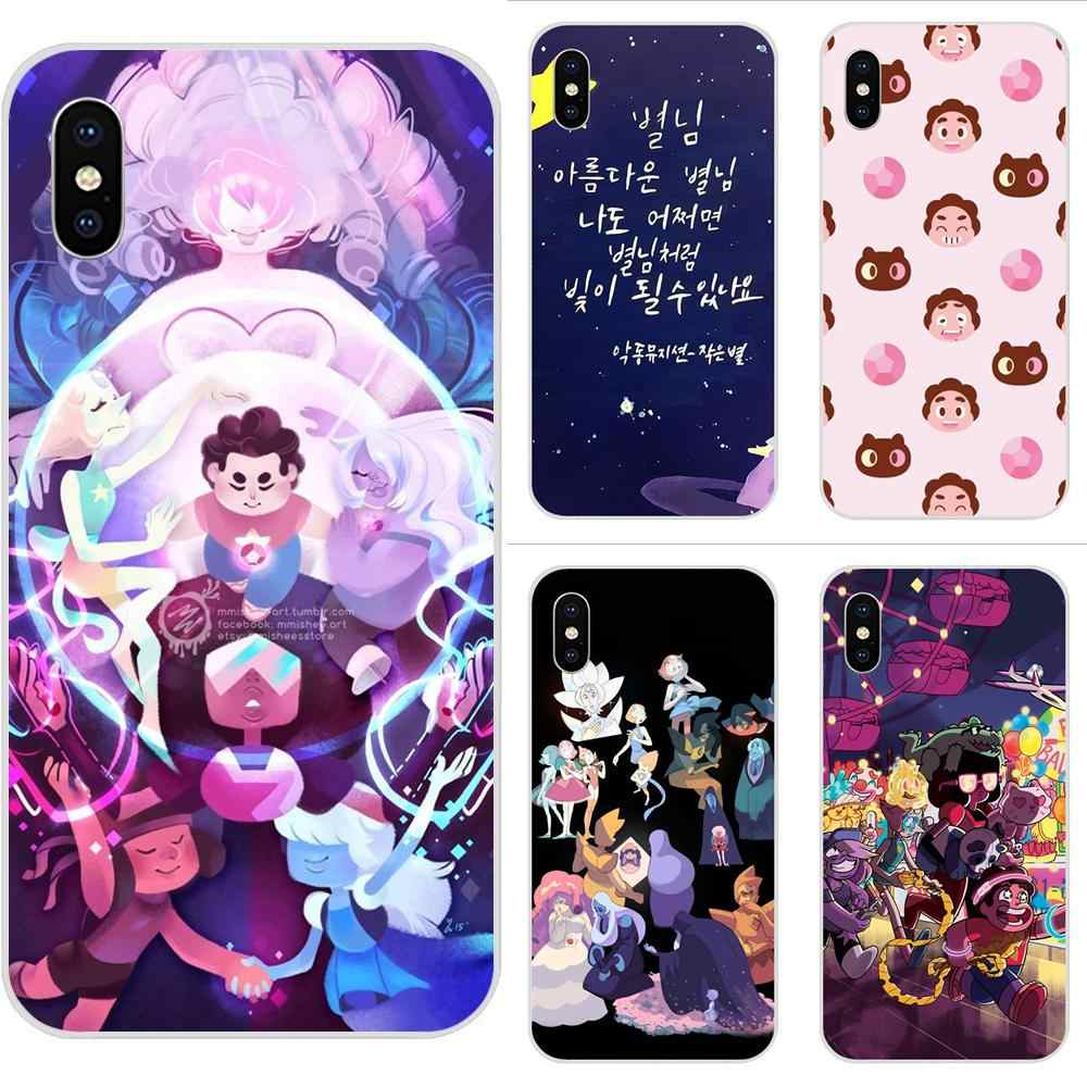Steven Universe Cute TPU Cell Bags For Huawei Honor Mate 7 7A 8 9 10 20 V8 V9 V10 G Lite Play Mini Pro P Smart