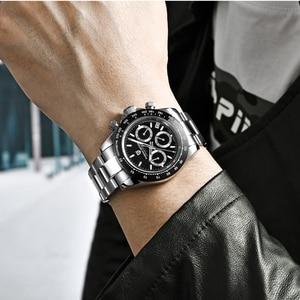 Image 3 - Pagani Ontwerp 2020 Nieuwe Mannen Horloges Quartz Bedrijvengids Horloge Heren Horloges Top Brand Luxe Horloge Mannen Chronograph VK63 Reloj hombre