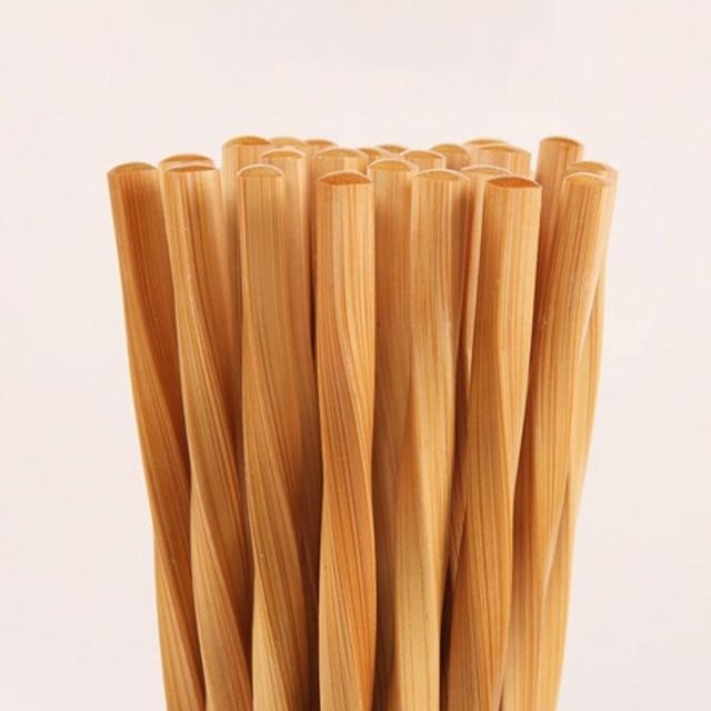 Фото 20/10/5 пара ручных палочек для еды из натурального бамбука