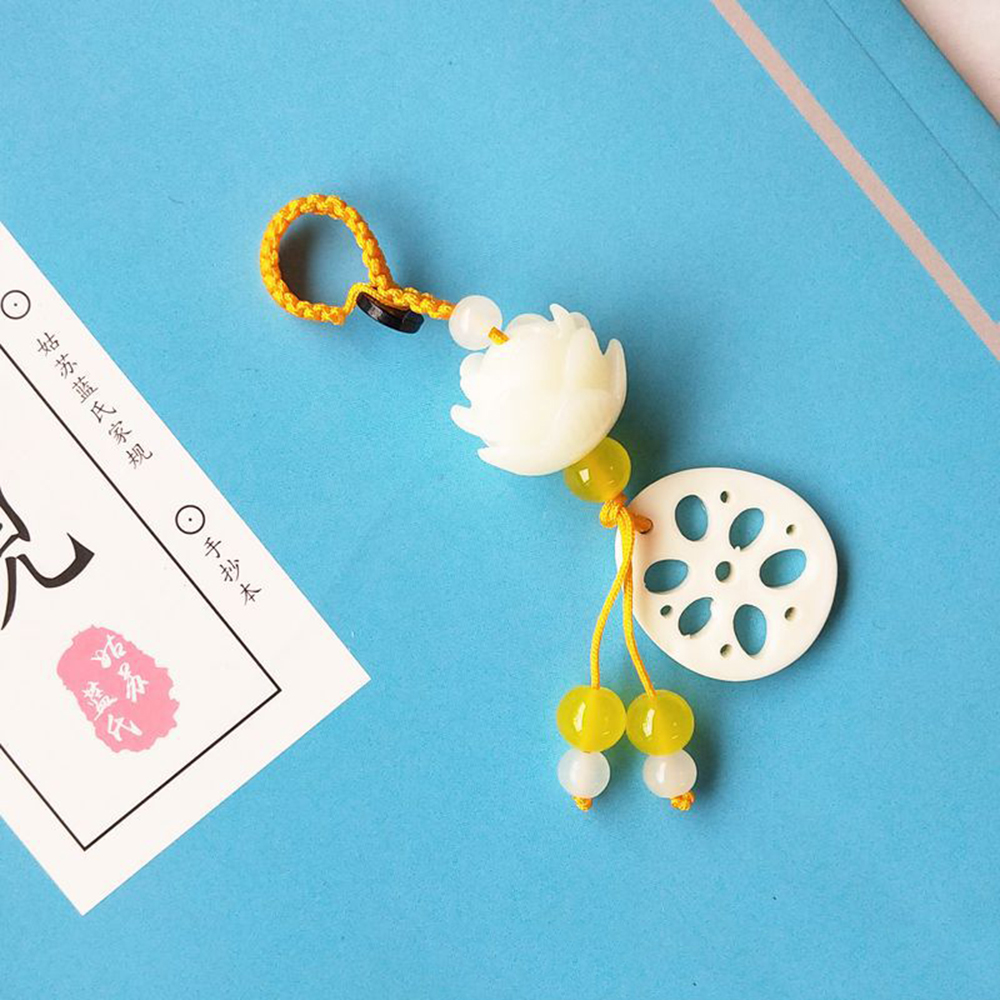Mo Dao Zu Shi Chen Qing Ling Tassel Pendant Props Car Keychain Pendant Handbag Key Ring Anime Cosplay Accessories 2019 NEW