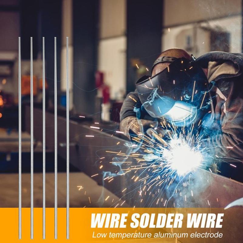10 шт. 500 мм низкотемпературные алюминиевые сварочные стержни электроды сварочные палочки пайки супер легко расплава стальные палочки