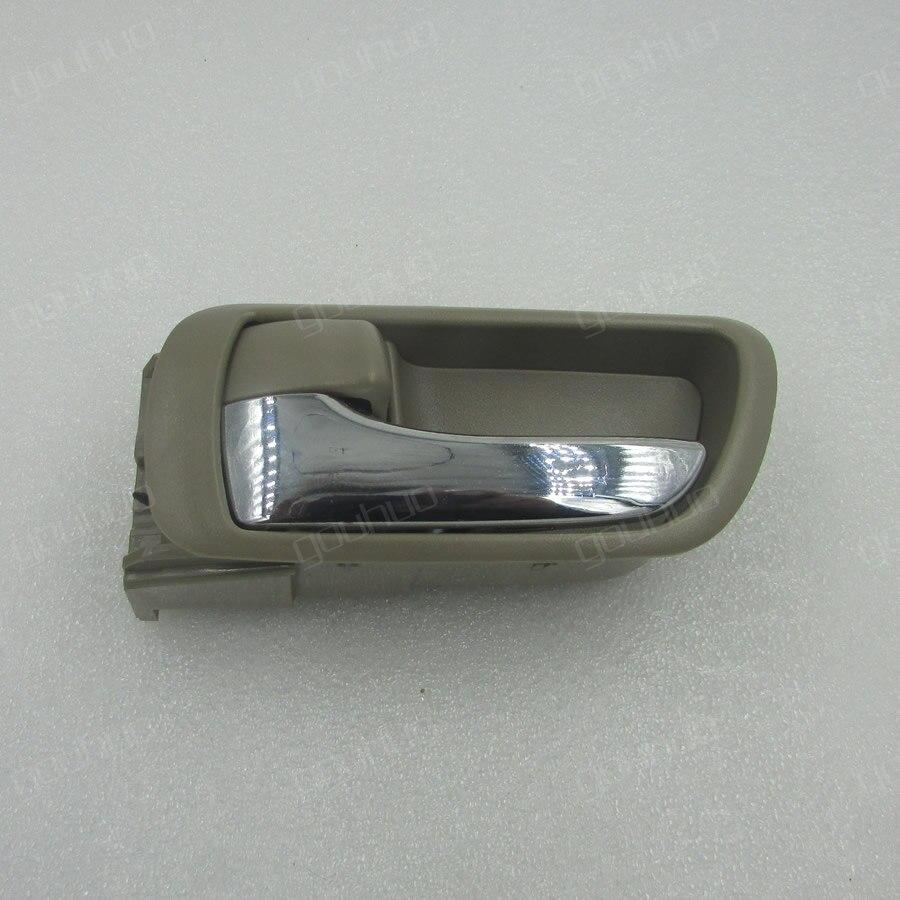 para 02-05 Toyota Camry 2.4 ACV30 batido de puerta manija de puerta beige especial manija de puerta interior 1PCS