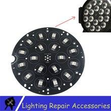 18x18w RGBWA UV 6in1 Led 보드 18X12W RGBW 4IN1 Led 파 램프 구슬 18x15w RGBWA 5in1 알루미늄 무대 조명 Led 파 64 광원