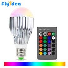 E27 16 kopf farbwechsel glühbirne 110V 220V festival dimmen bundi bühne licht + 24key geeignet für home infrarot fernbedienung