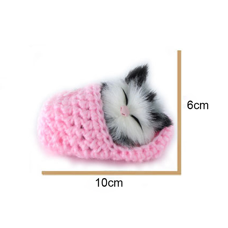 Hot Sale Lifelike Kid Toys Cute Plush Slippers Cat Soft Doll Simulation Sound Toys