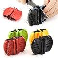 Портативная небольшая безопасная точилка для ножей, инструмент для домашней кухни, легкая заточка для удобства заточки на улице, туризма