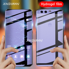 Xindiman Full hydrogel film for huaweiP10 P10plus soft tempered glass huawei 2019Psmart Psmartz protective Film