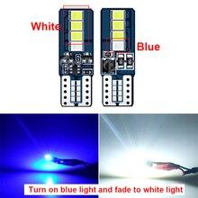 цена на Cool Car Discolored Dome Lamp Bulb T10 LED Light For Mitsubishi Lancer 10 ASX Pajero X Ford Focus 2 3 Fiesta Citroen C4 C5 C3