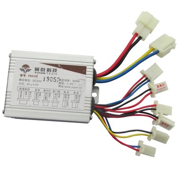 24V 36V 48V 250W/350W/500W e-bike controller brushed controller speed for electric bike/scooter/e-bike/bicycle image