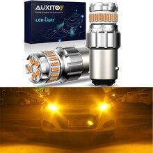 2pcs Canbus No Error 1157 BAY15D LED Bulb P21/5W Auto Led Bulbs Brake Tail Lamp Car Backup Light 1200LM 6500K White Amber Yellow