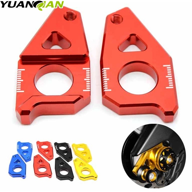 For Yamaha TMAX 500 530 T-MAX 530 T MAX 530 Motorcycle Spindle Chain Tensioner Adjuster Blockers Foot Rearset Footrests TAMX