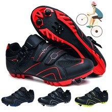 2021 vtt chaussures de cyclisme baskets hommes VTT chaussures lumineuses route vélo chaussures professionnel ultra-léger cyclisme baskets