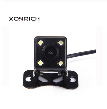 Xonrich Car Rear View Camera Universal Backup Parking Camera Waterproof 170 Wide Angle HD Color Image image