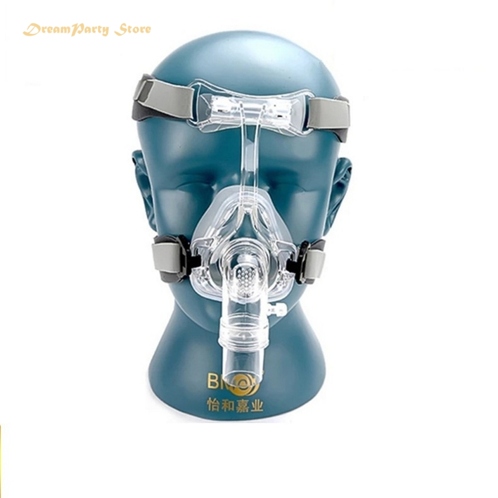 BMC-NM2 Nasal Mask For CPAP Masks Interface Sleep Snore Respirator Strap With Headgear Anti Snoring Treatment
