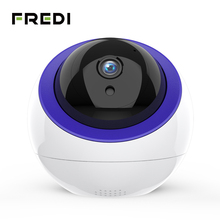 FREDI 1080P 감시 카메라 지능형 자동 추적 클라우드 IP 카메라 홈 보안 무선 와이파이 CCTV 카메라 넷 포트