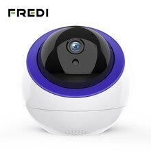 FREDI 1080P caméra de Surveillance Intelligent Auto suivi nuage IP caméra sécurité à domicile sans fil WiFi CCTV caméra avec Port Net