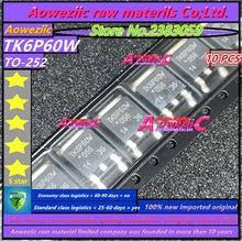 Aoweziic 100% neue importiert original TK6P60W 6.2A 600 V TK6P60V 6.2A 600 V TK6P65W 5.8A 650 V ZU 252