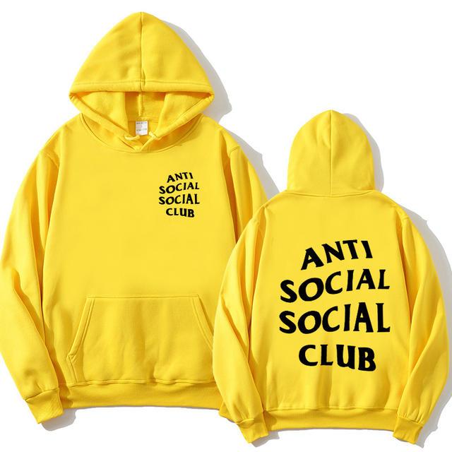 ANTI SOCIAL SOCIAL CLUB THEMED HOODIE (18 VARIAN)