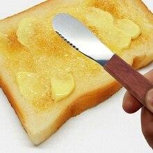 Western Bread Jam Spreaders Knife Cream Cutter Utensils Cutlery Breakfast Multifunction Stainless Steel Butter Knife Cream Knife