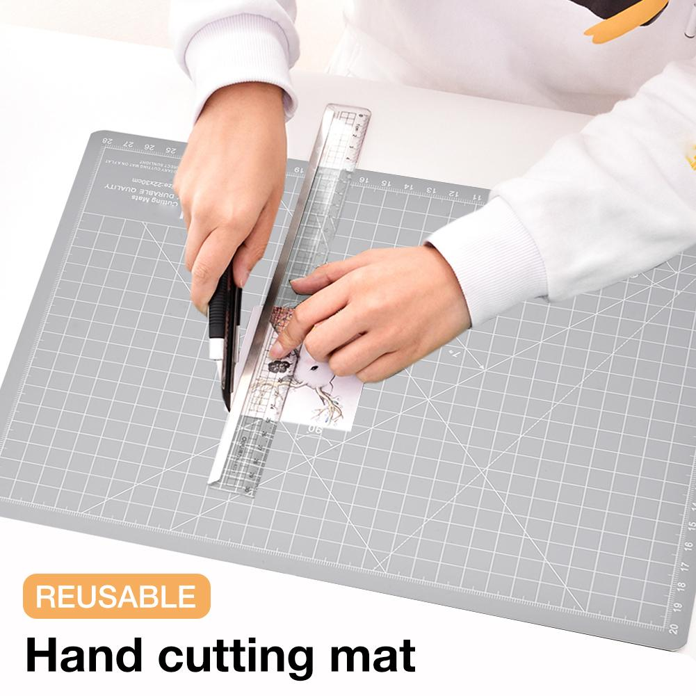 1Pcs A4 PP Cutting Mat Pad Patchwork Cut Pad A4 Patchwork Tools DIY Tool Cutting Board Double-sided Automatic Repair Cutting Pad