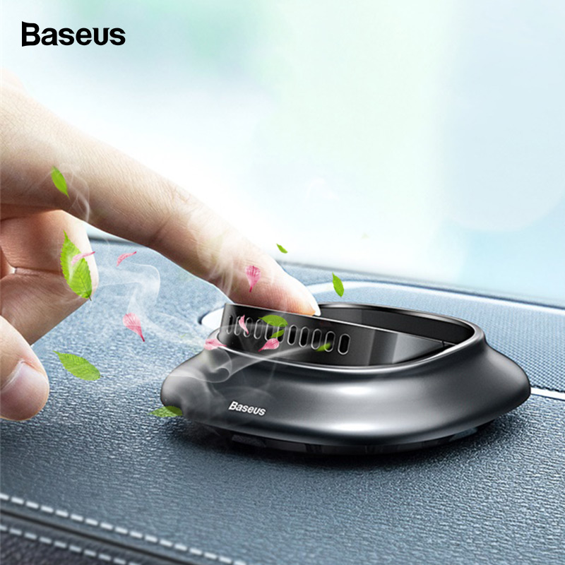 Baseus Car Air Freshener Aromatherapy Car Perfume Diffuser For Dashboard Air Outlet Solid Car Fragrance Car Interior Accessories
