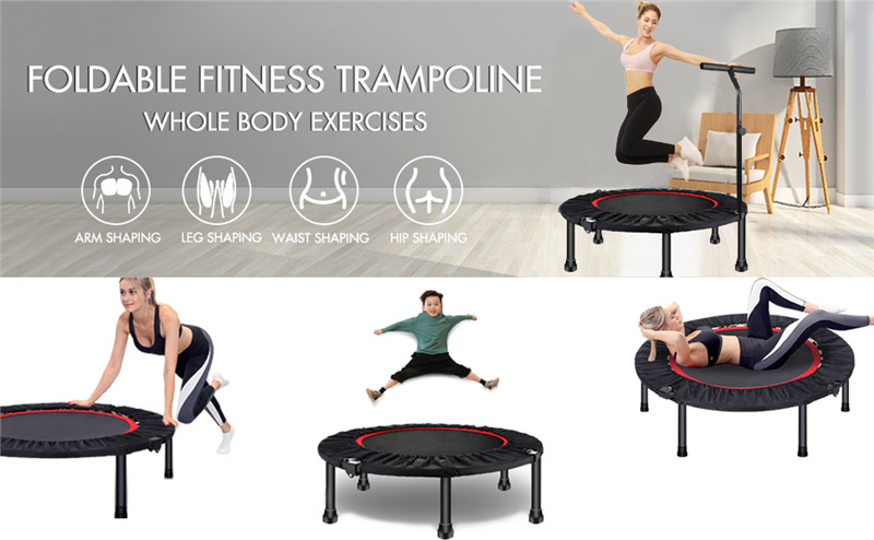 Fitness Trampoline Children Adult Jumping Bed