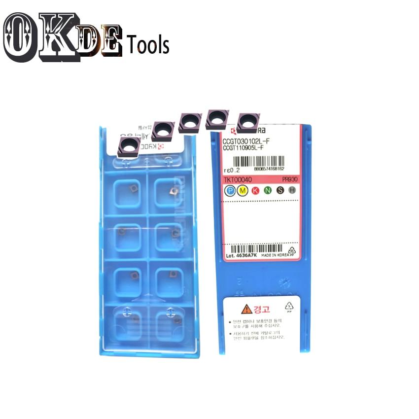 Carbide Insert SCLCR03 Stainless Steel  CCGT030102 CCGT030104 CCGT04 PR930 TN60 Wearproof Carbide Insert Lathe Mill CNC Tools
