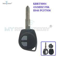 Remtekey kbrts004 дистанционный ключ 434 МГц hu133 id46 pcf7936