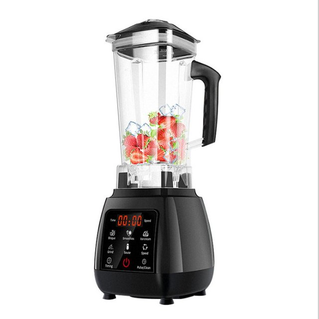 2.0L Digital Touchscreen Fruit Blender Mixer Preset Automatic Program Juicer Food Processor Ice Crusher Smoothie Machine 1