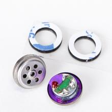 7,8mm Titan Membran In Ohr Kopfhörer Lautsprecher Fahrer 32 Ohm HiFi DIY für IE800 Monitor Kopfhörer Lautsprecher 95dB/ W