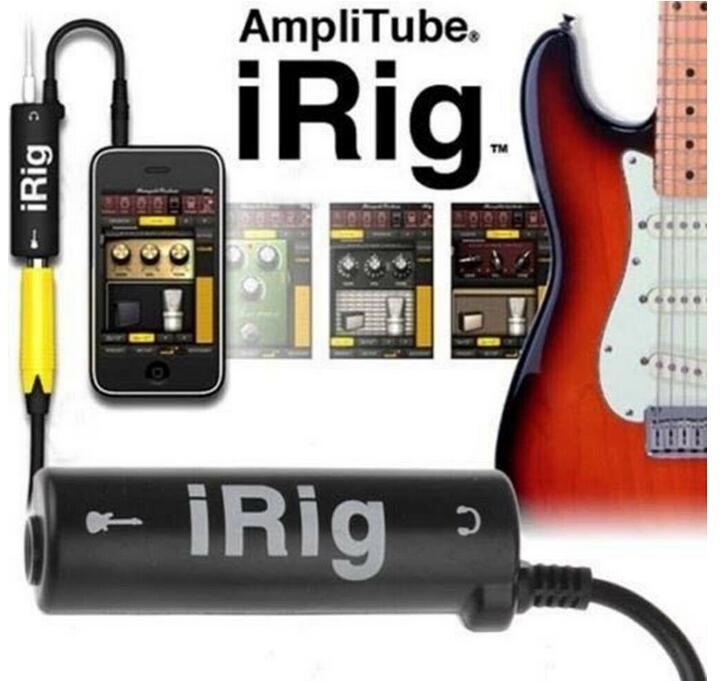 IRig Guitar Interface Converter Adapter IRig Guitar Tuners For IPhone / IPod