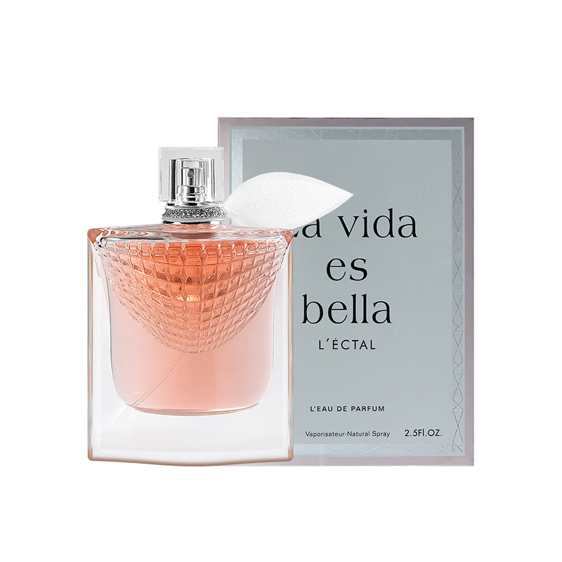 LAIKOU Brand Original Perfume For Women 75ML Rose Fragrance Long Lasting Perfumes Sexy Lady Parfum Glass Bottle Spray Deodorant