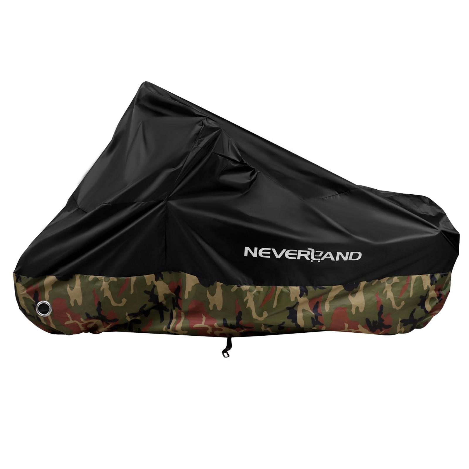 Cubierta de protección UV para motocicleta, a prueba de agua y lluvia, 190T, para todas las estaciones, para exteriores, Motor de tierra, Moto D45