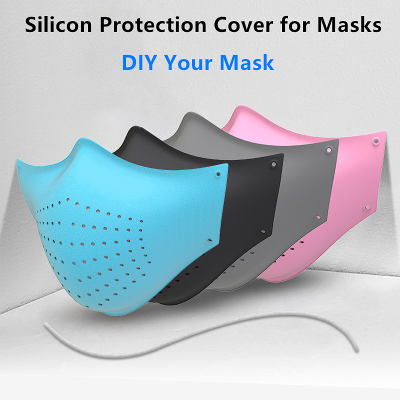 1Pcs Silicon Protection Cover For Face Masks Dustproof Washable Mask Bag Container Storage DIY Multiuse Mask Filters