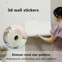 Carta da parati autoadesiva a prova d'umidità adesivo da parete 3D impermeabile pannello autoadesivo camera da letto cucina mobili da bagno Decora