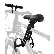 Mountain Bike Chair Child Seat Front Saddle And Armrest Bicycle Frame Stainless Steel Seat Outdoor Bicycle Seat Aluminum Alloy