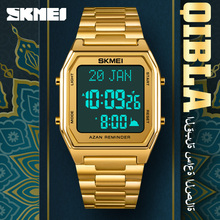 SKMEI Original Brand Men's Watches Luxxury Digital Electronic Watch Fashion New Bttery Time Remind Wristwatch Man Steel Clock