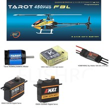 Tarot 450 FBL Super Combo PRO V2 FBL Helicopter-50A ESC
