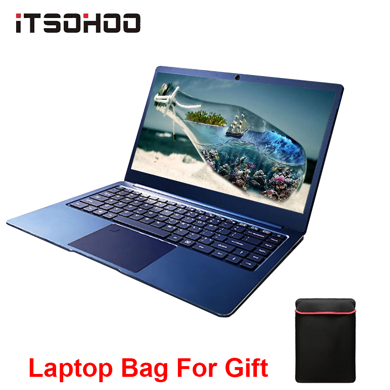14,1 zoll 8GB gaming laptop Intel Cerelon Apollo N3450 Notebook computer iTSOHOO Windows10 Netbook 64GB 192GB <font><b>320GB</b></font> <font><b>SSD</b></font> optional image