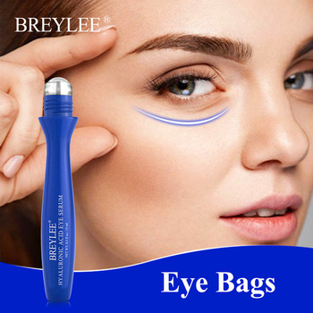 BREYLEE Anti-Aging Hyaluronic Eye Serum Cream Moisturizing Improve Eyes Around Dryness Skin Eye Bags Anti-Puffiness Eye Care недорого