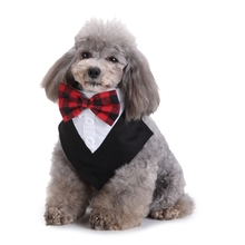 Gentleman Style Dog Bow Tie Adjustable Pet Collar Grooming  For Cat Puppy Necktie Lovely Kitty Accessory D40