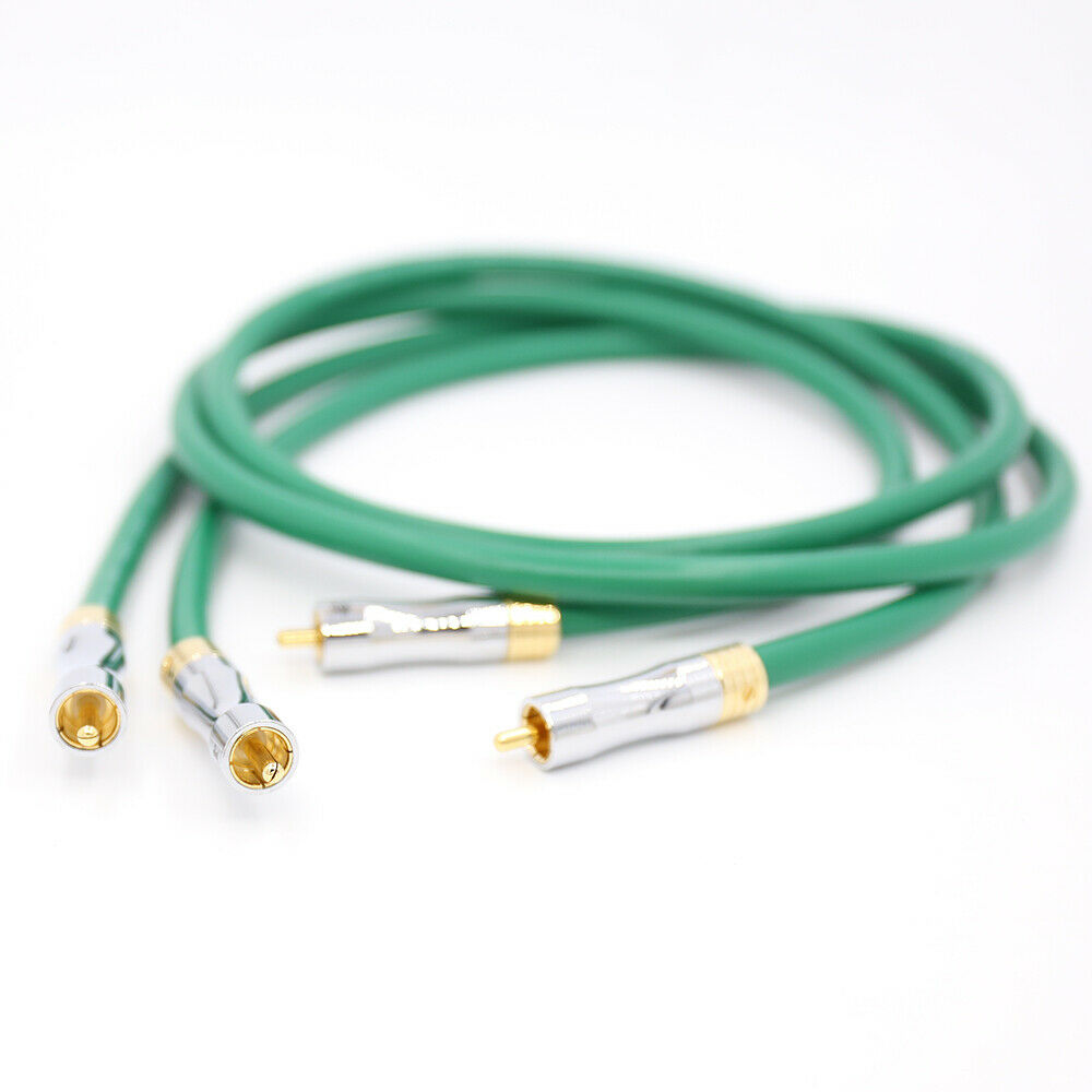 0.5M-3M Hifi audio Pailicce gold plated plugs connector <font><b>2328</b></font> audio 4N Copper <font><b>Mcintosh</b></font> RCA Interconnect audio cable image