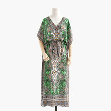 Dress Pakistan-Clothing India Long Women's Casual Maxi Sunny-Robe Boho Loose Ethnic-Style
