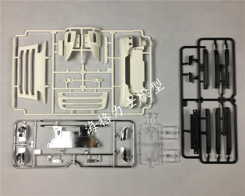1/14 Scania R470 R620 R730 Refit Front Face Front head kit Suit for TAMIYA 56338 56323 DIY upgrade RC Tractor Truck(China)