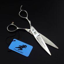 6 inch Hair Scissors Left Hand Barber Professional Shears Salon Hairdressing Cutting Scissors цены