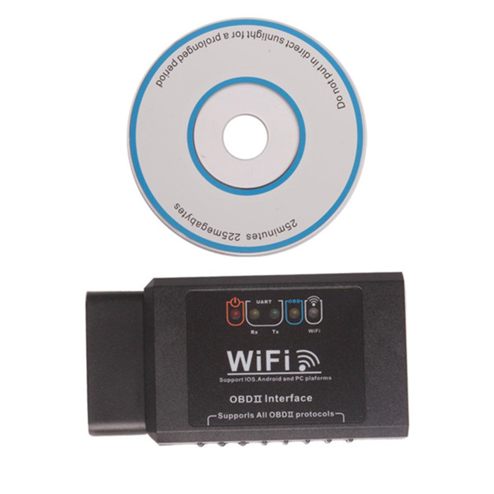 WiFi OBDII Scanner Code Reader Car OBD2 Diagnostic Tool Support All OBD II Vehicles For IOS And Android PC