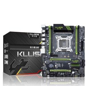 Kllisre X79 carte mère LGA2011 ATX USB3.0 SATA3 PCI-E NVME M.2 SSD support REG ECC mémoire et processeur Xeon E5(China)