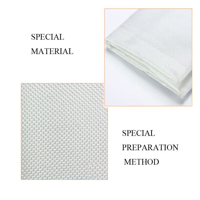 1M X 1M Fire Blanket Fiberglass Fire Flame Retardant Emergency Survival White Fire Shelter Safety Cover Fire Emergency Blanket 5